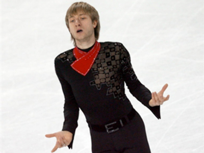 Plyushchenko back to storm podium in Vancouver