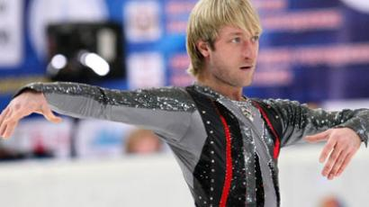 Perfect Plyushchenko claims seventh European title