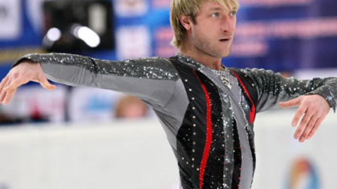 Plyushchenko strikes winning comeback at Russian champs