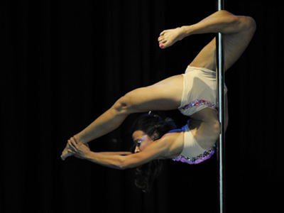 School for Strippers: Children to compete in pole dance event