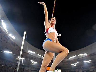 Pole vault queen Isinbaeva victorious at Diamond League event