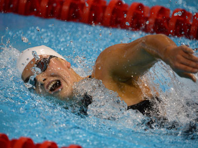 Swimmers open Russia's golden account at London Paralympics