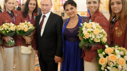 Putin wishes Paralympians luck in London