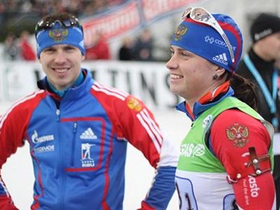 Russian wins biathlon season-ending event