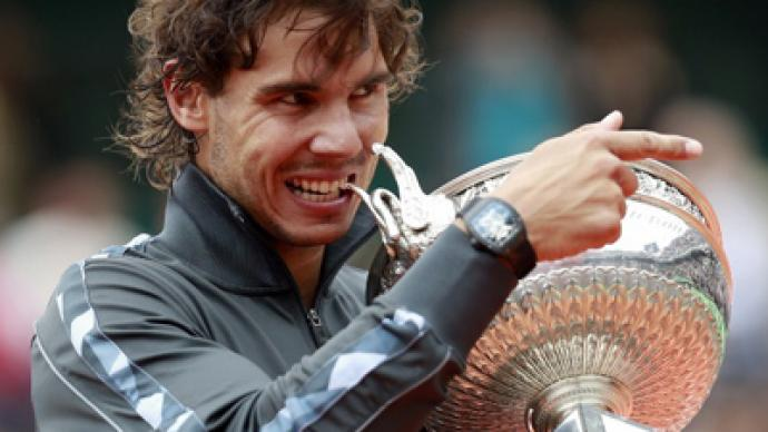 Nadal's £250,000 watch stolen during French Open