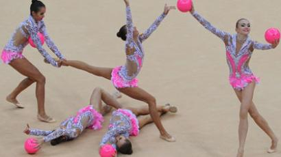 Flawless on the floor: Russia grabs more rhythmic gymnastic gold