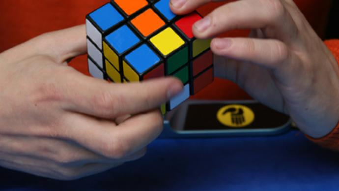 Russian claims Rubik's Cube speed solving Euros