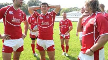 'Russian rugby team moving in right direction'
