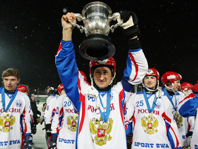 Russia returns to world bandy Olympus