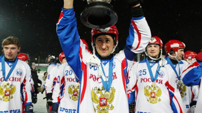 Russia claim Bandy Worlds