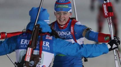 Neuner rehabilitates herself, Zaitseva claims 8th podium in-a-row