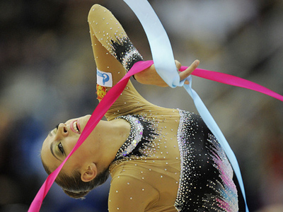 Kanaeva steals show at Moscow Grand Prix series