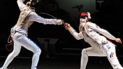 Chinese upset Russian fencing team at Moscow Sabre event