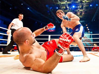 Russian MMA prospect honored to face Zapadka