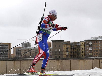 Makoveev ends Russia's biathlon medal drought