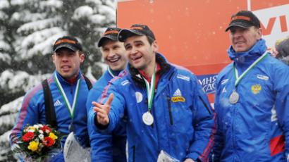 Zubkov unstoppable in Bobsleigh World Cup