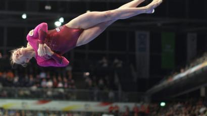Komova wins first Russian gold at Gymnastics Worlds