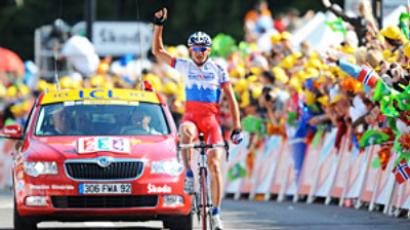 Menshov triumphs at Giro d'Italia