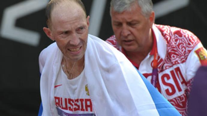 Kirdyapkin walks to Olympic record