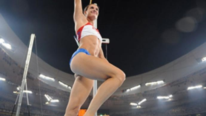 Russian pole vault champ lashes out at U.S. rival