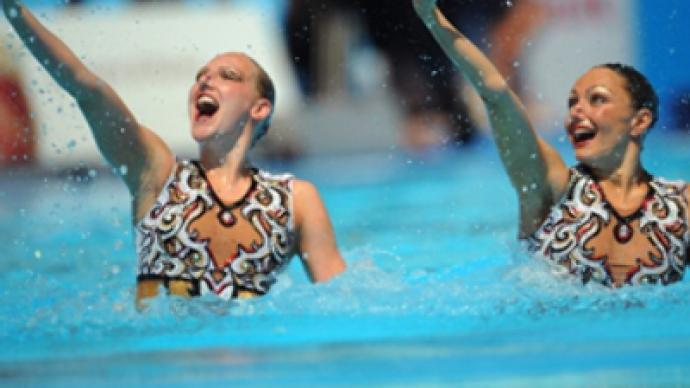 Russian synchro duo grabs World Aquatic Championship