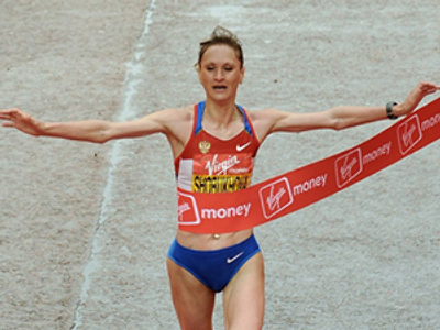 Star Russian runner rewrites Chicago marathon history