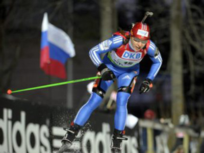 Russia triumphs in men's biathlon World Cup relay