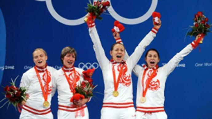 Russian women win fencing gold