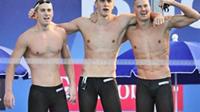 Russian swimmers happy with ban on hi-tech suits