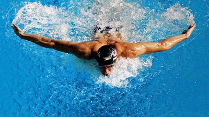 Swimming records about to fall – four-time Olympic champ
