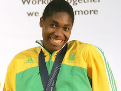 Semenya happy with return