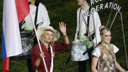 'I thought flag would be heavier' – Sharapova