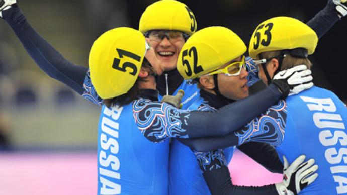 Russians make history at short track Euros