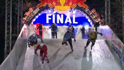 Five daredevils pass Russian Crashed Ice selection