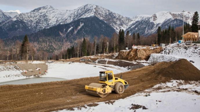 """Sochi 2014 contractors sign """"green"""" declaration"""