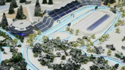 Debut for Sochi 2014's largest venue