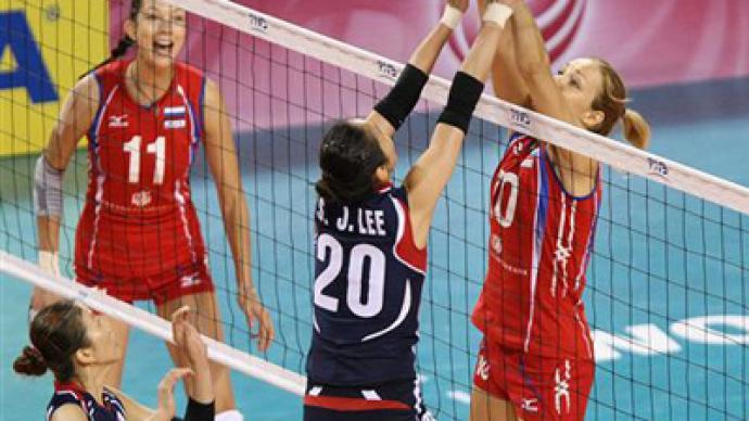 Russia suffer first FIVB Grand Prix loss