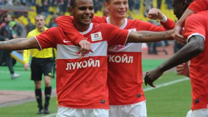 Spartak Moscow occupy Champions League spot following CSKA blunder