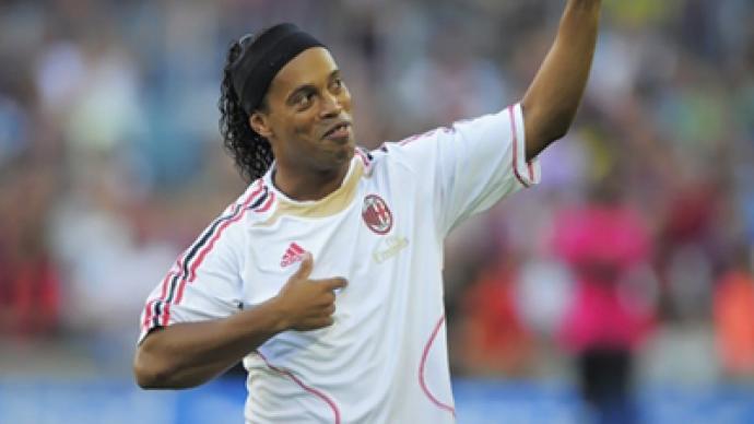 St. Pete schoolboys win rendezvous with Ronaldinho