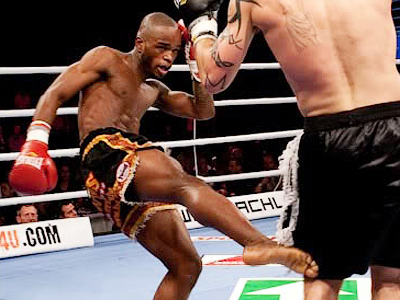 Kickboxing prospect Mineev disassembles the French Machine