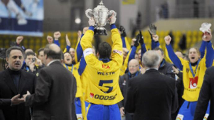 The Swede smell of success in Bandy World Champs thriller
