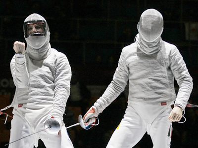 Velikaya shows great form at Moscow fencing event