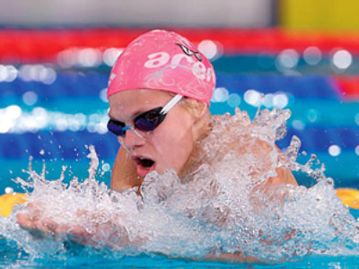 Russian swimmers on top at home event