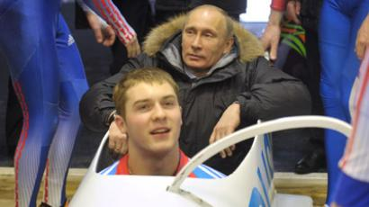 Russian ends luge season on high note