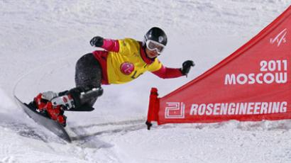 Home ramp turns unlucky for Russian snowboard star