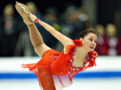 Russian figure skaters shine at Youth Olympics