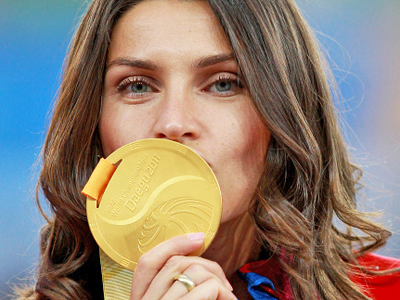 Russian named best European athlete in 2011