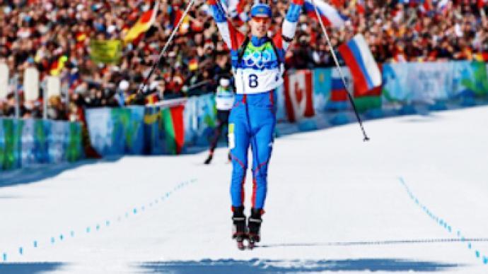 Ustyugov breaks Russian biathletes' misfortune in Vancouver