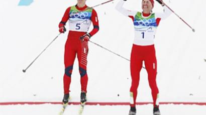 Norway grabs both biathlon golds