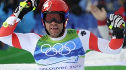 Russia claims first gold in Vancouver!
